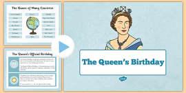 The Queen's Birthday Presentation