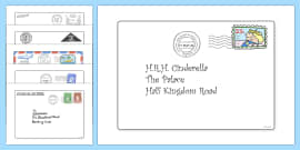 The Jolly Postman Letters to Support Teaching on The Jolly Postman