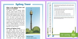Sydney Tower Fact File