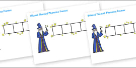 Wizard Phoneme Frames
