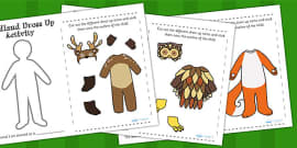 Woodland and Forest Animals Dress Up Activity