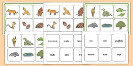 Matching Cards and Board to Support Teaching on The Gruffalo