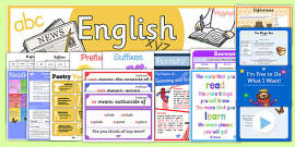 LKS2 English Display Pack