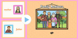 Family Members PowerPoint