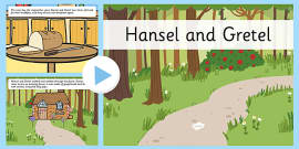 Hansel and Gretel Story PowerPoint