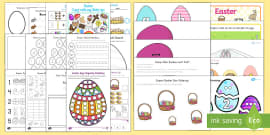 * NEW * Easter Early Childhood Printable Resource Pack