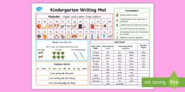 * NEW * Kindergarten Writing Word Mat