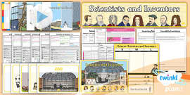PlanIt - Science Year 1 - Scientists and Inventors Unit Pack
