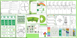 St. Patrick's Day K-2  Resource Pack