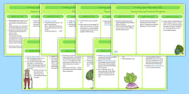 EYFS Growing Lesson Plan Ideas