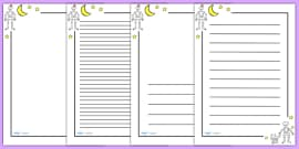 Page Borders to Support Teaching on Funnybones