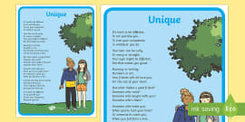 KS1 Anti-Bullying Poem