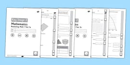 KS2 Reasoning Tests Pack 1