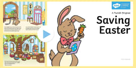 * NEW * Saving Easter PowerPoint