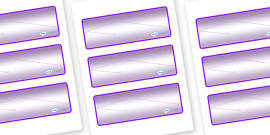 Chameleon Star Constellation Themed Editable Drawer-Peg-Name Labels (Colourful)