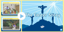 The Easter Story EYFS PowerPoint