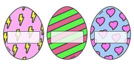 Editable Self-Registration / Display Eggs
