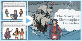 The Story Of Christopher Columbus PowerPoint