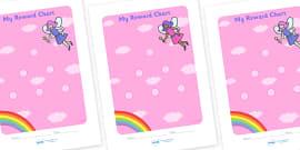 Fairy Sticker Reward Chart (15mm)