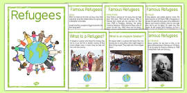 Refugees Poster Pack