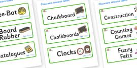 Farmyard Themed Editable Additional Classroom Resource Labels