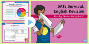 * NEW * SATs Survival: Year 6 English Revision Mor...