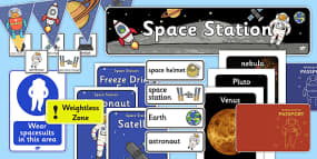 Space Station Role Play Pac...