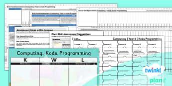 PlanIt - Computing Year 6 - Kodu Programming Unit Assessment Pack - planit, computing, year 6, assessment, pack