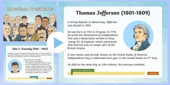 American Presidents Information PowerPoint - KS1/2 Donald Trump Inauguration Day Jan 20th 2017, current affairs, new president, trump,  Democrat,