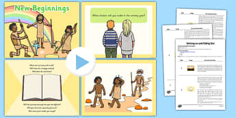 SEAL New Beginnings Assembly Pack - pshe, psche, relationships, social, emotional, aspects, learning, friendships, ks1, ks2, key stage, starting, different