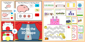 KS1 Maths Games - Maths Games Resource Pack - KS1 Maths Games, Maths games, pack, maths resources