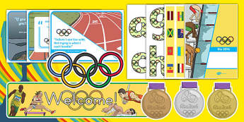 Olympics Themed Display Pack