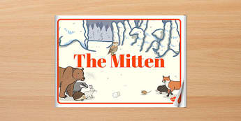 The Mitten eBook - the mitten, ebook, story, tale, mitten, warm