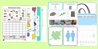 Top Ten Materials Activity Pack - Materials, materials and their properties,