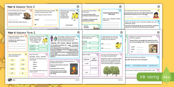 Year 6 Autumn Term 2 SPaG Activity Mats