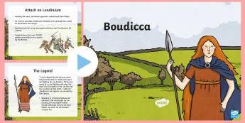 Boudicca Information PowerPoint - boudicca, powerpoint, info