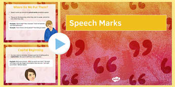 LA Speech Marks Starter PowerPoint - speech marks, punctuation, direct speech, SPAG, dialogue, starter, revision, proof read