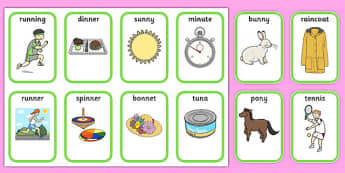 Medial 'n' Playing Cards - speech sounds, phonology, articulation, speech therapy, dyspraxia