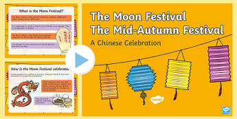Moon Festival or Mid Autumn Festival PowerPoint