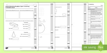 Llyfryn Mathemateg Gweithdrefnol Blwyddyn 3 Tymor 2 Geometreg a Phriodweddau Siâp - Procedural Examples, tests, test, Numeracy Tests, procedural,  Years 5, years 6, Deunyddiau Sampl Gw