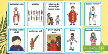 Lent Aistear Role Play Badges - Aistear, Infants, English Oral Language, School, Lent, Easter, Religion, ROI, Irish