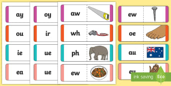 Phonics Jigsaw Phase 5 - phase five, phase 5, phases, phonics, jigsaw, phonics jigsaw, phonics games, phonics activites, games, activities, word games