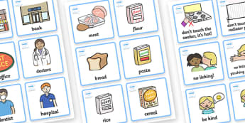 SEN Communication Cards Pack (Girl) - SEN, communication cards, out and about, my environment, Visual Timetable, SEN, Daily Timetable, girls, School Day, Daily Activities, Daily Routine KS1