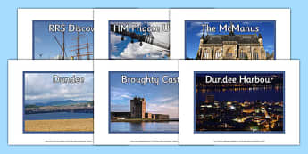Dundee Photo Display Pack - dundee, scotland, scottish, compare, town, towns, city, cities, britain, uk, united kingdom, geography, location, display, images, photographs, pictures