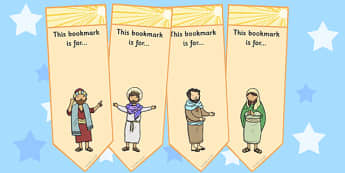 The Conversion of Saul Editable Bookmarks - bookmark, activity