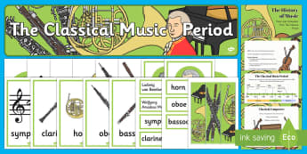 The History of Classical Music Resource Pack - History Club, Classical Music, Life long learning, Ideas, Support, Care Homes, Elderly Care, Activit