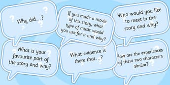 AF3 Guided Reading Question Cards - assessment focus 3, assessment focus reading, af3 reading, assessment focus cards, assessment focus questions, AF3
