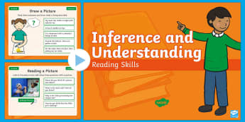 Year 1 Spring Term Inference and Understanding Reading Skills PowerPoint - Infer, Thinking, Deduction, Starter, Filler, Warm-Up,
