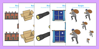 Burglar Size Ordering - burglar bill, burglar, size ordering, activity
