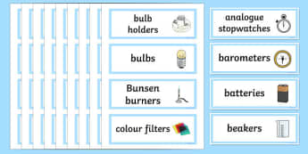 Science Cupboard Labels - science cupboard labels, science, subject, school, area, label, cupboard, Resource Labels, Name Labels, Editable Labels, Drawer Labels, Coat Peg Labels, Peg Label, KS1 Labels, Foundation Labels, Foundation Stage Labels, Tea